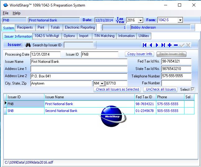 1042 S Software Worldsharp 10991042 S Software Screens